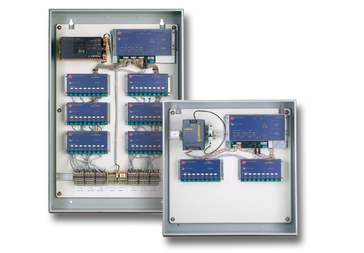 Echo 8 Through 48 Central Control Digital Intercom And Simple Two Way Communication Circuit Schematic Diagram System