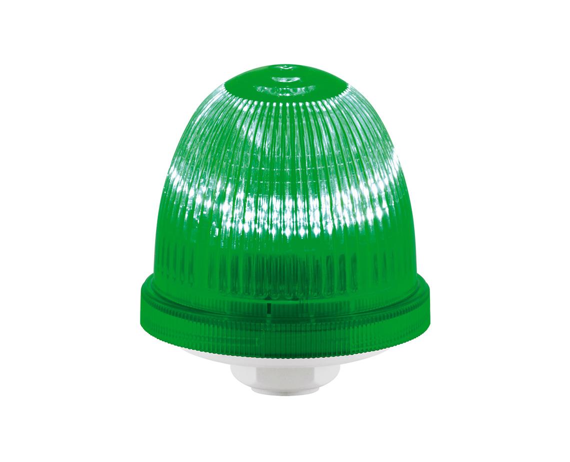 Federal Signal LP22LED-090-240A Streamline Low Profile LED Light Multi-Pattern Amber Flush or Pipe Mount 90-240VAC