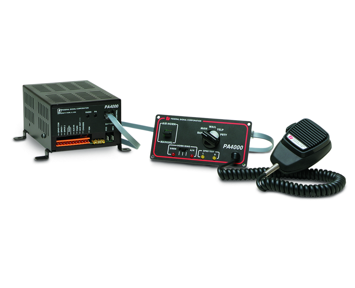 PA4000 | Federal Signal on
