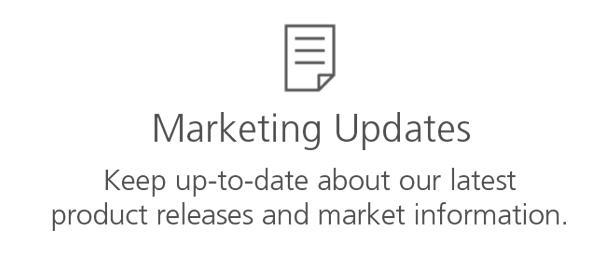 Marketing Updates
