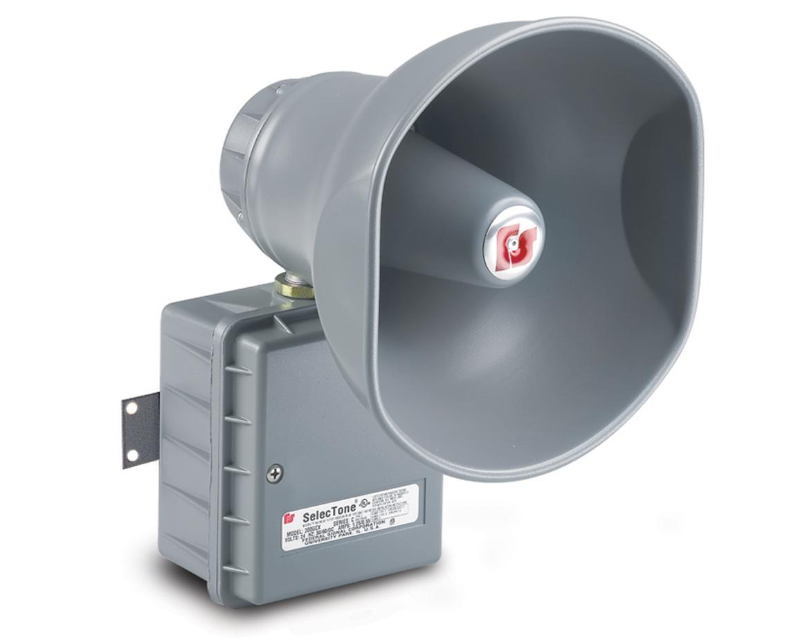 Audible Signals Signaling Platforms Electronic Horns And Sirens Horn 300gcx Selectone Hazardous Location Signal