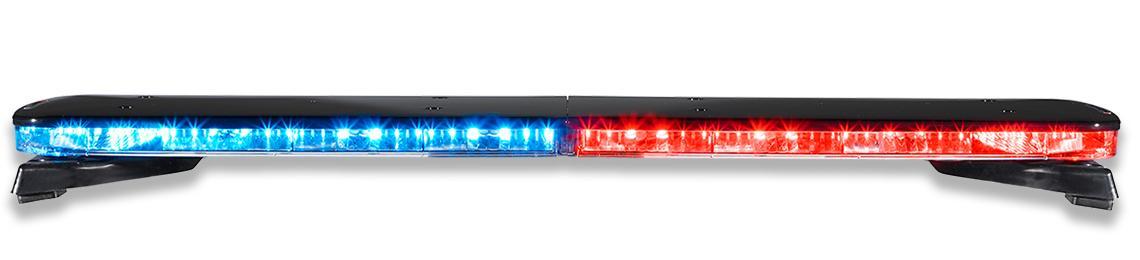 Police Allegiant Light bar Red Blue