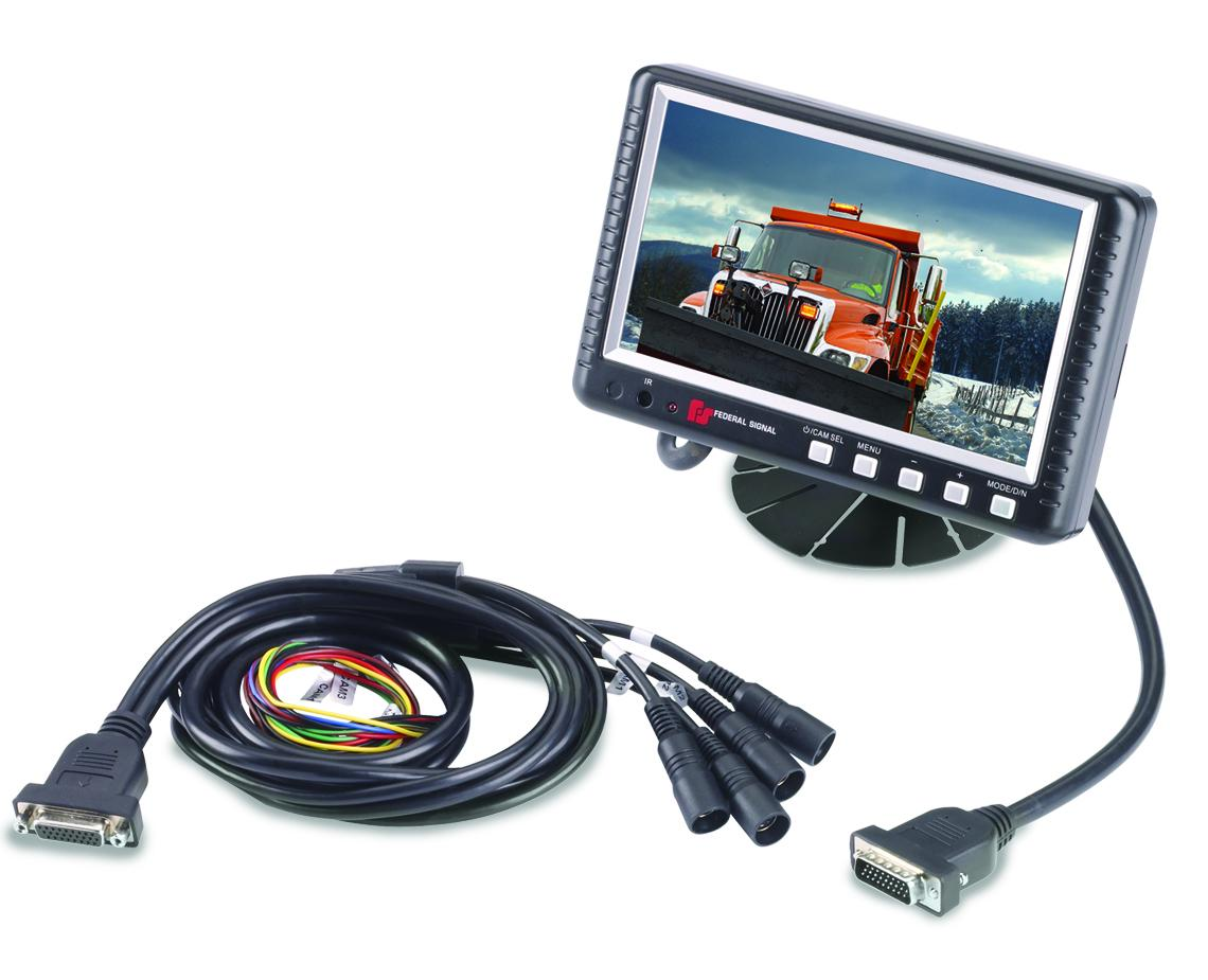 Reverse Camera Monitor Systems Federal Signal Wireless Rear View Wiring Diagram