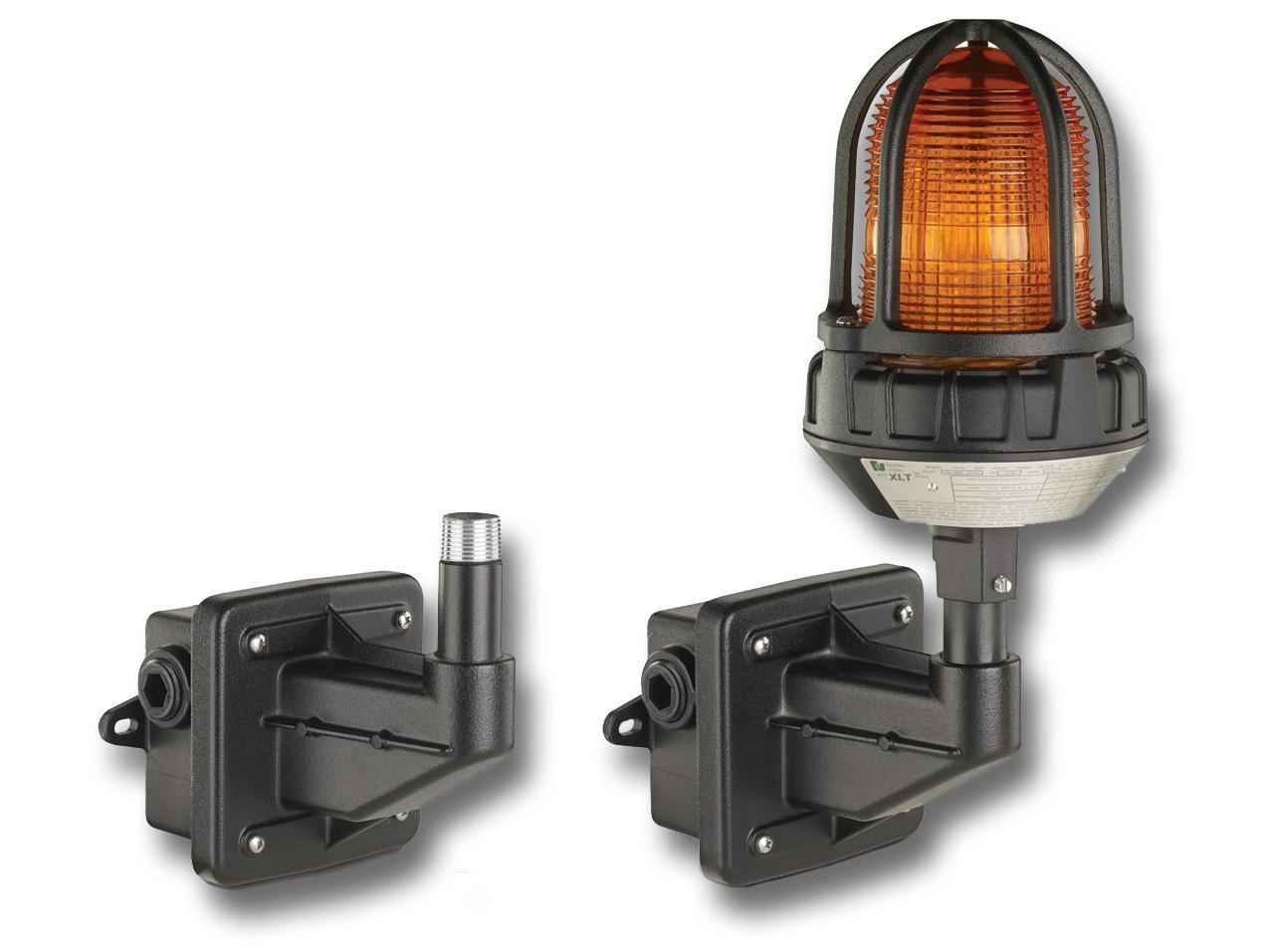 Visual Signals Signaling Platforms Led Beacons Strobe And Watt Power Inverter 12v Dc To 230v Ac Electronic Circuits Diagram Lhwb Hazardous Location Light Mounting Kit