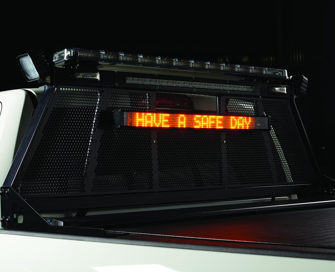 Mb1 Led Message Board Federal Signal