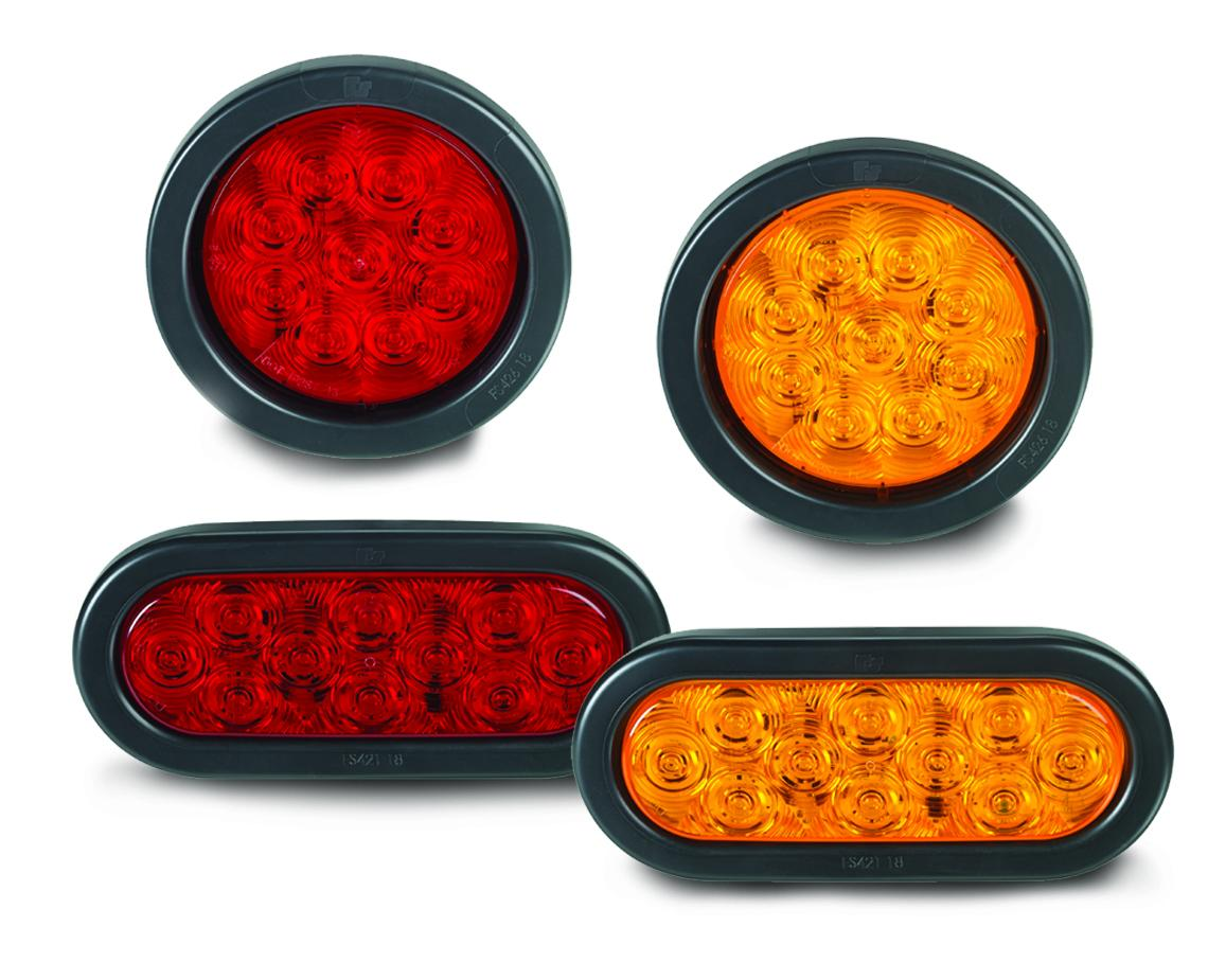 """4"""" and 6"""" Round/Oval LED Lights"""