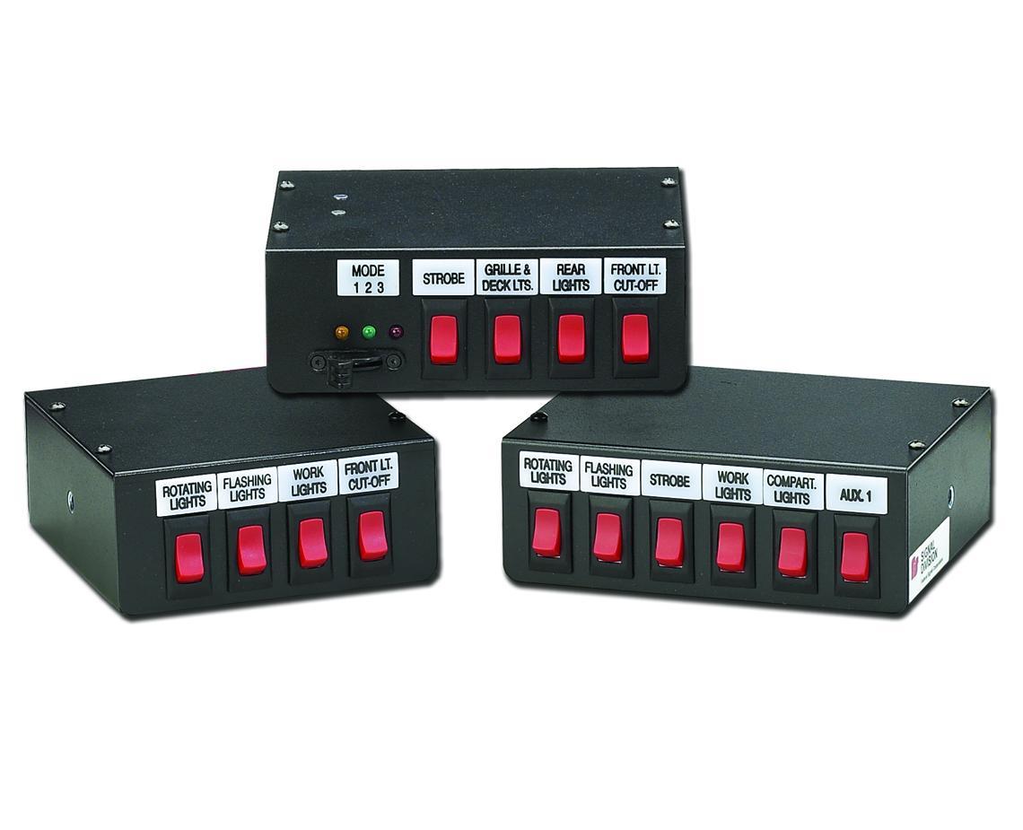 Whelen Control Box Wiring Diagram Manual Guide Strobe Light Schematic Switch Controls Federal Signal Rh Fedsig Com Schematics