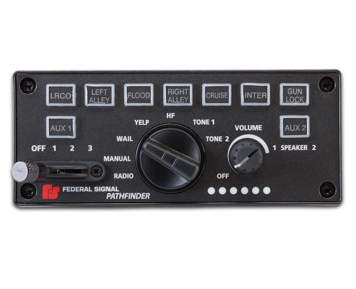Pathfinder 174 Siren Light Controller Federal Signal