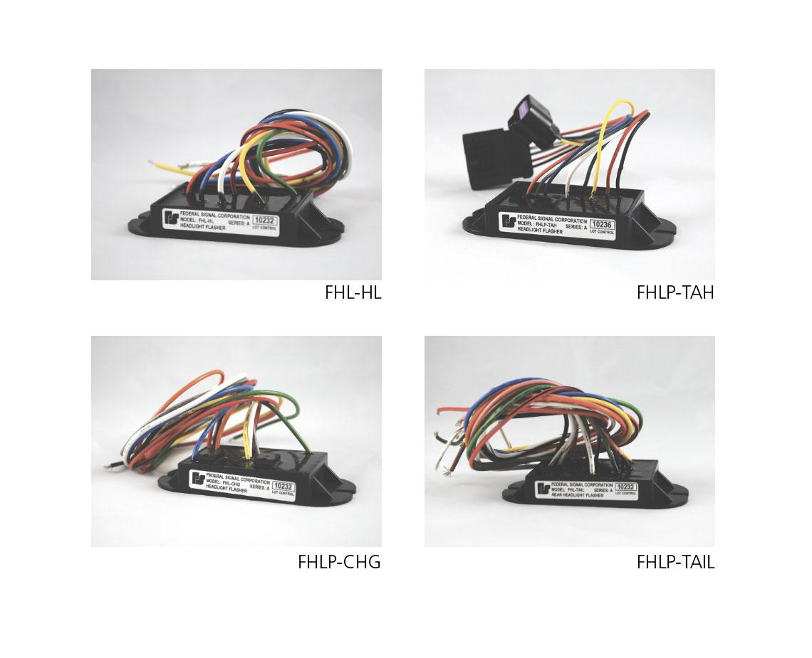 Headlight Taillight Flashers   Federal Signal on
