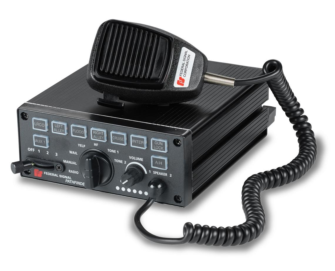 pathfinder� siren light controller federal signal siren federal signal federal signal pathfinder siren & light