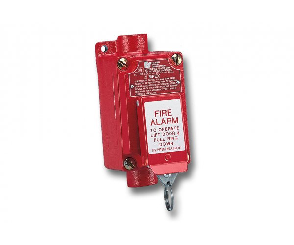 Fire Alarm Pull Station - MPEX Explosion-Proof
